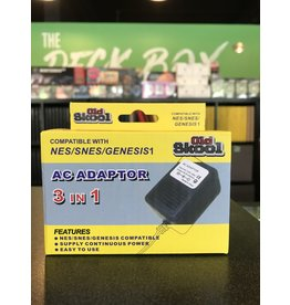 Cables AC Adaptor: NES/SNES/GENESIS1