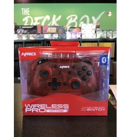 Controller CONTROLLER WIRELESS PRO CLEAR RED KMD (SWITCH)