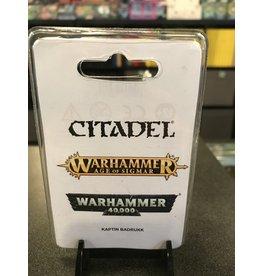 Warhammer 40K Kaptin Badrukk