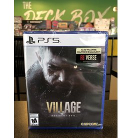 PS5 RESIDENT EVIL VILLAGE  (PS5)(NEW)