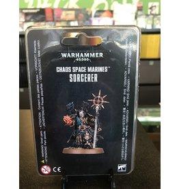 Warhammer 40K CHAOS SPACE MARINES SORCERER