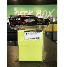 Deck Box UP D-BOX STANDARD BRIGHT YELLOW
