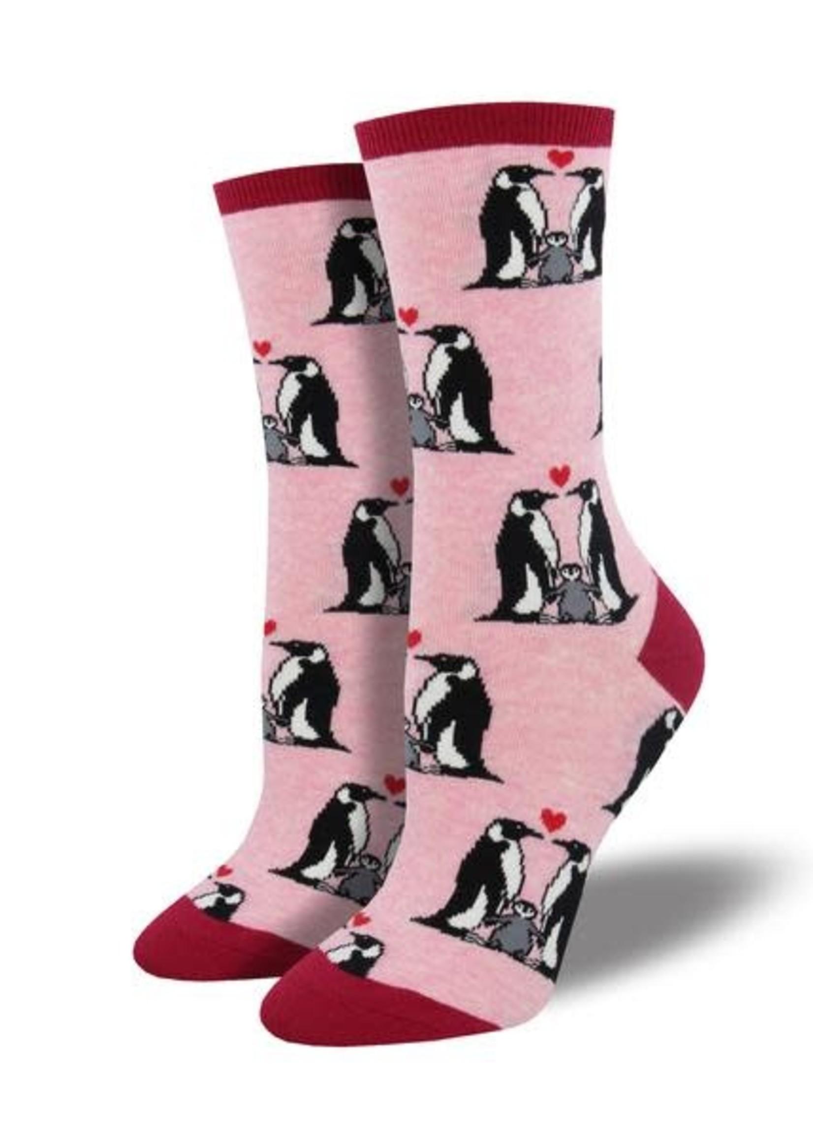 Socksmith Canada Inc WOMEN'S PENGUIN LOVE SOCKS