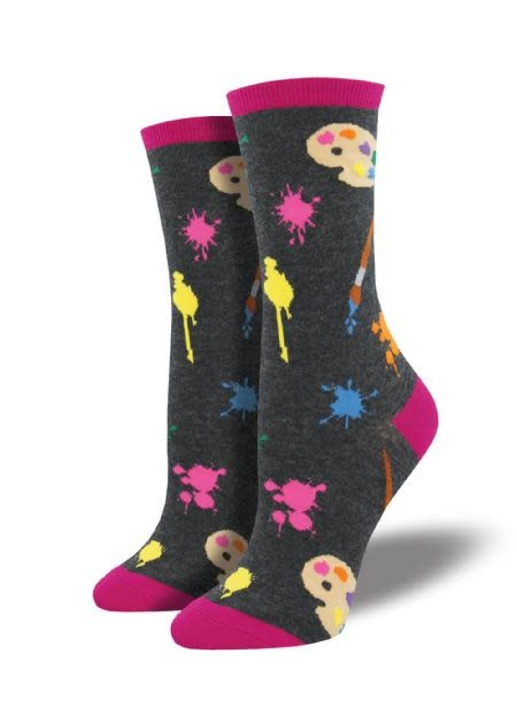 Socksmith Canada Inc WOMEN'S PAINTERS PALETTE SOCKS