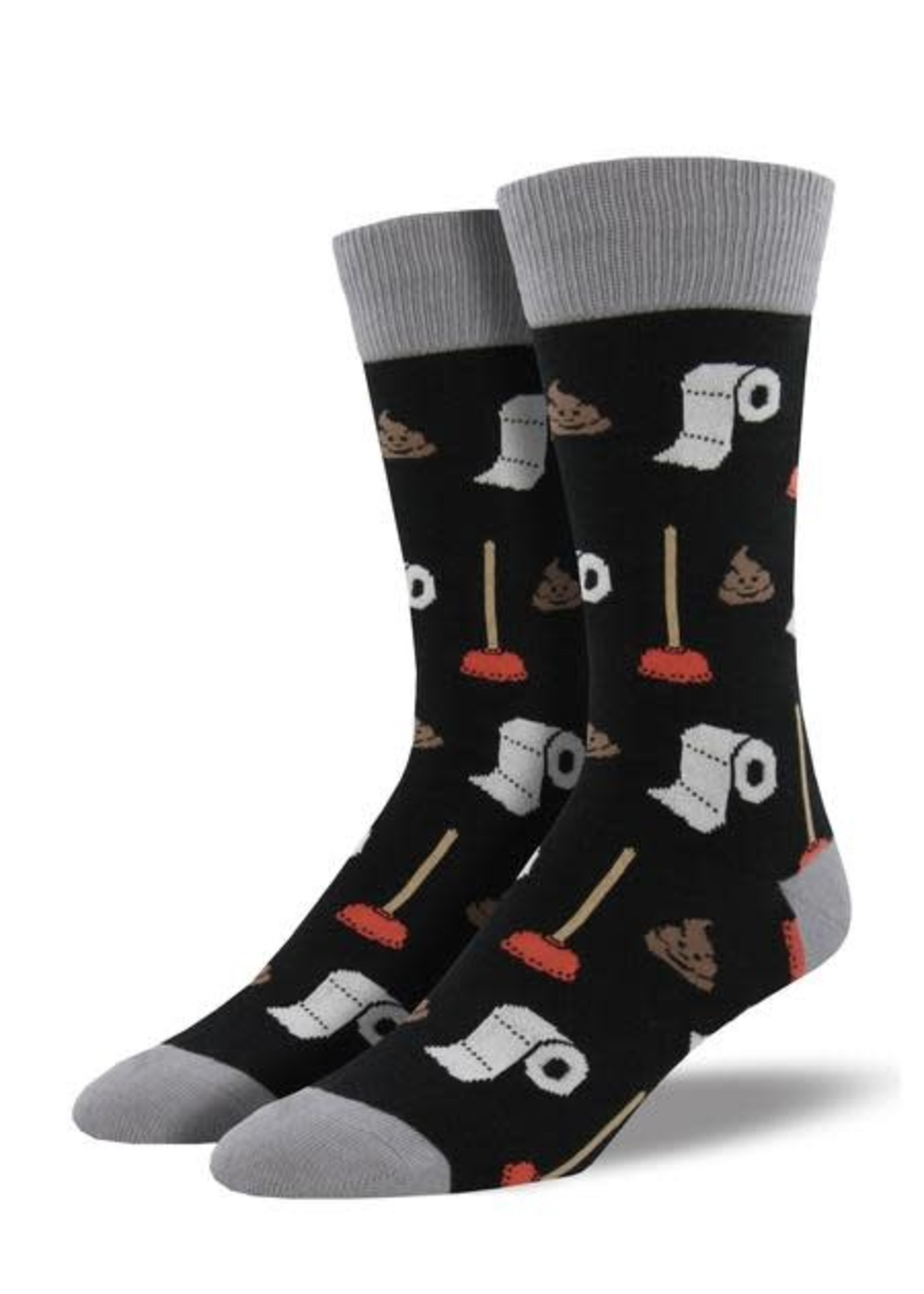 Socksmith Canada Inc MEN'S POTTY PARTY SOCKS