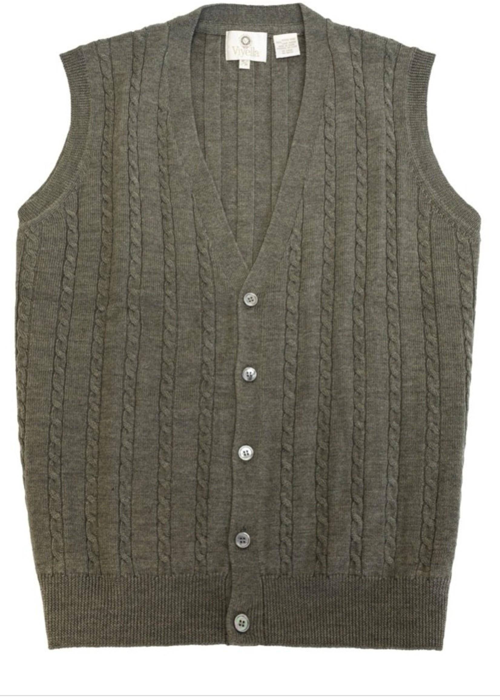 Viyella Viyella V-Neck Cardi Vest 255616