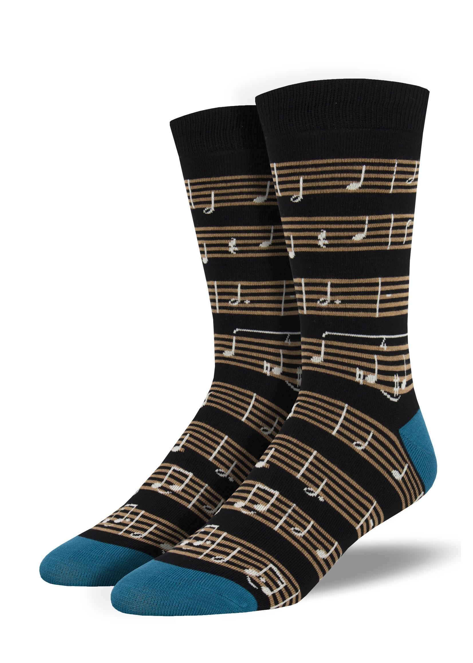 Socksmith Canada Inc MEN'S SHEET MUSIC SOCKS