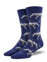 Socksmith Canada Inc MEN'S RAISING A HERD SOCKS MNC2098-BLU