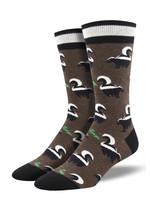 Socksmith Canada Inc MEN'S FUNKY SKUNKY SOCKS MNC2094-BHT