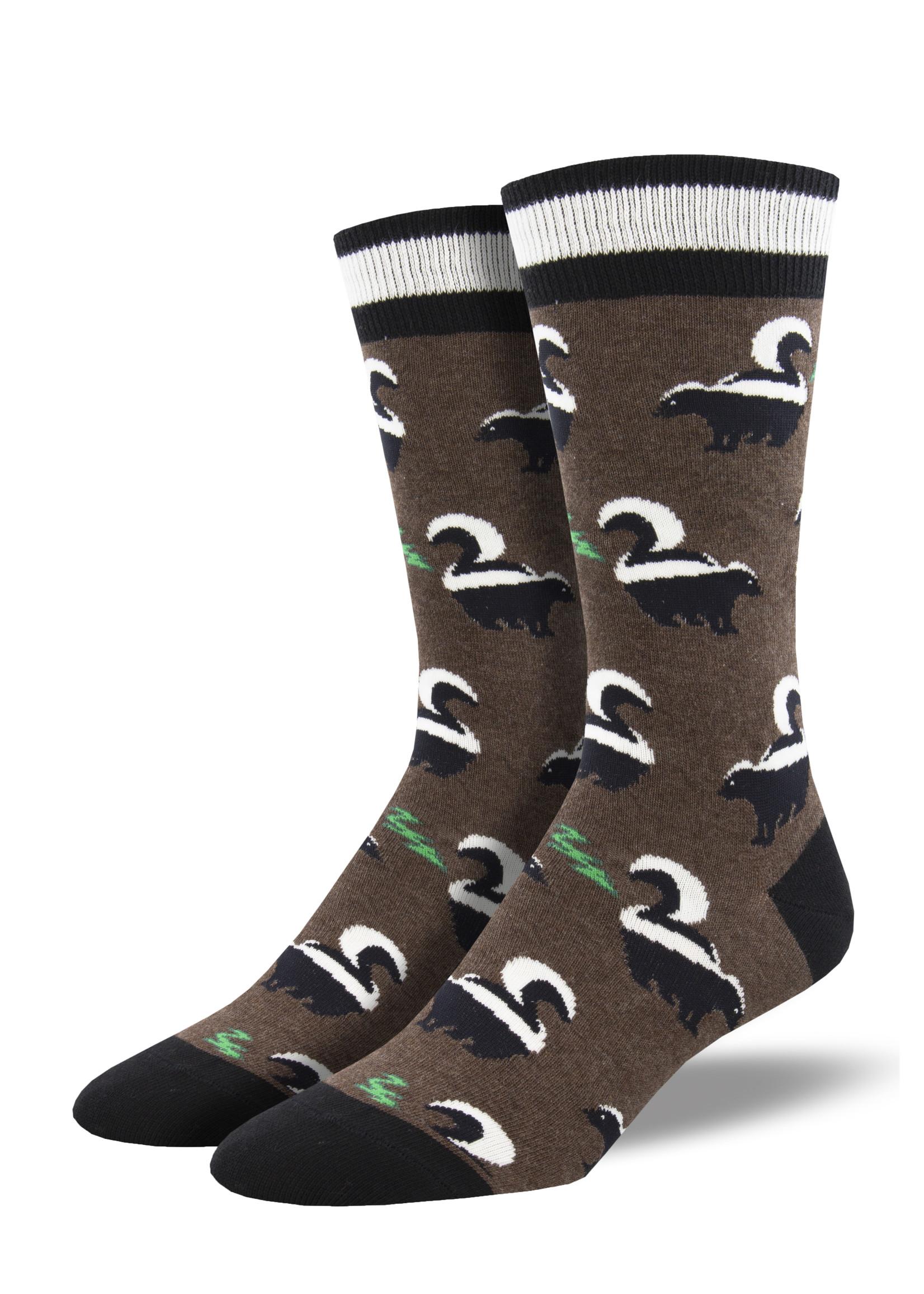 Socksmith Canada Inc MEN'S FUNKY SKUNKY SOCKS