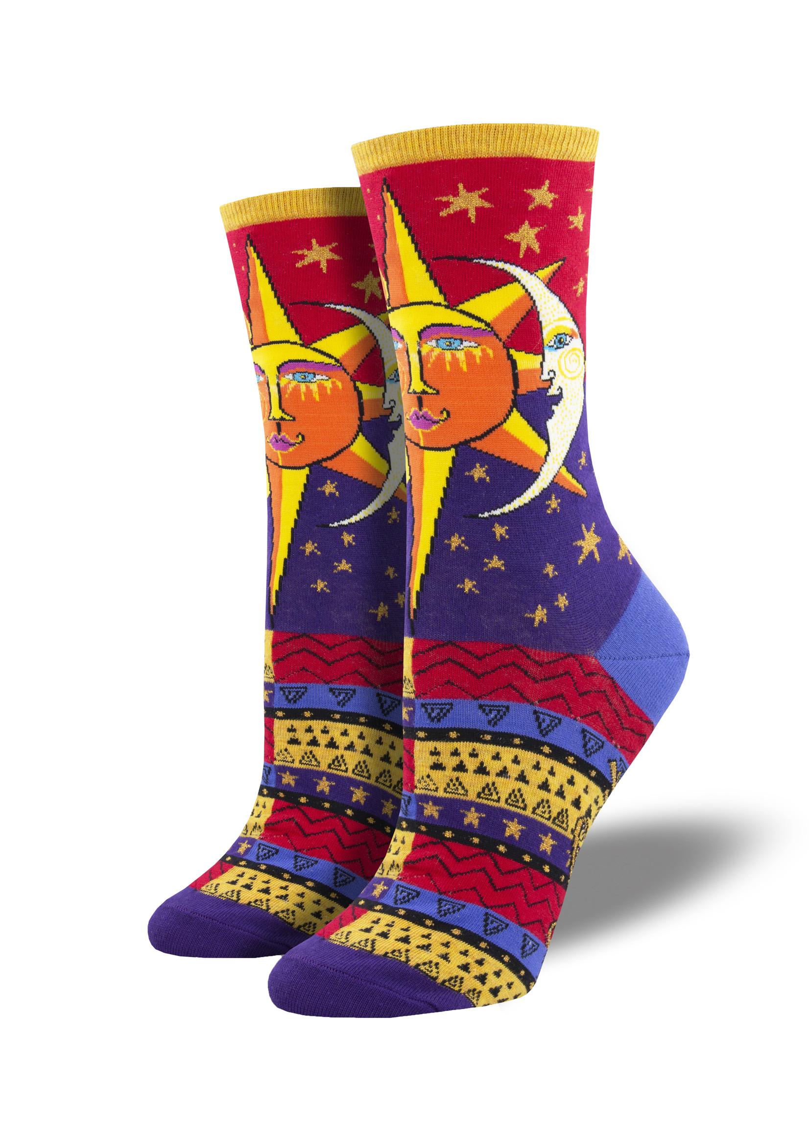 Socksmith Canada Inc WOMEN'S SUN AND MOON SOCKS