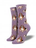 Socksmith Canada Inc WOMEN'S NOTHING BUT A HOUND DOG SOCKS WNC878-HLD