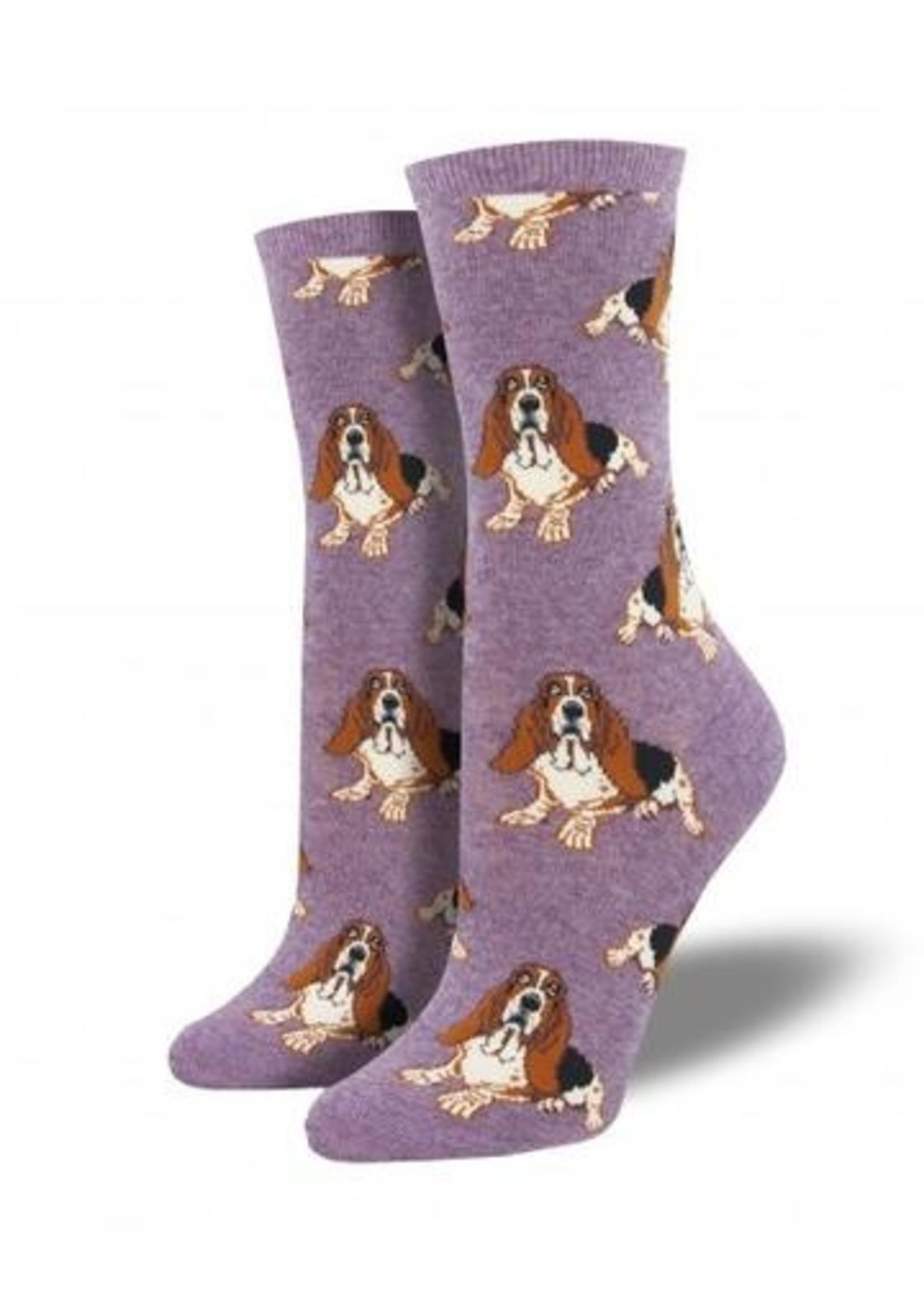 Socksmith Canada Inc WOMEN'S NOTHING BUT A HOUND DOG SOCKS