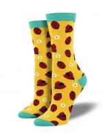 Socksmith Canada Inc WOMEN'S LADYBUG SOCKS WBN842-BYL