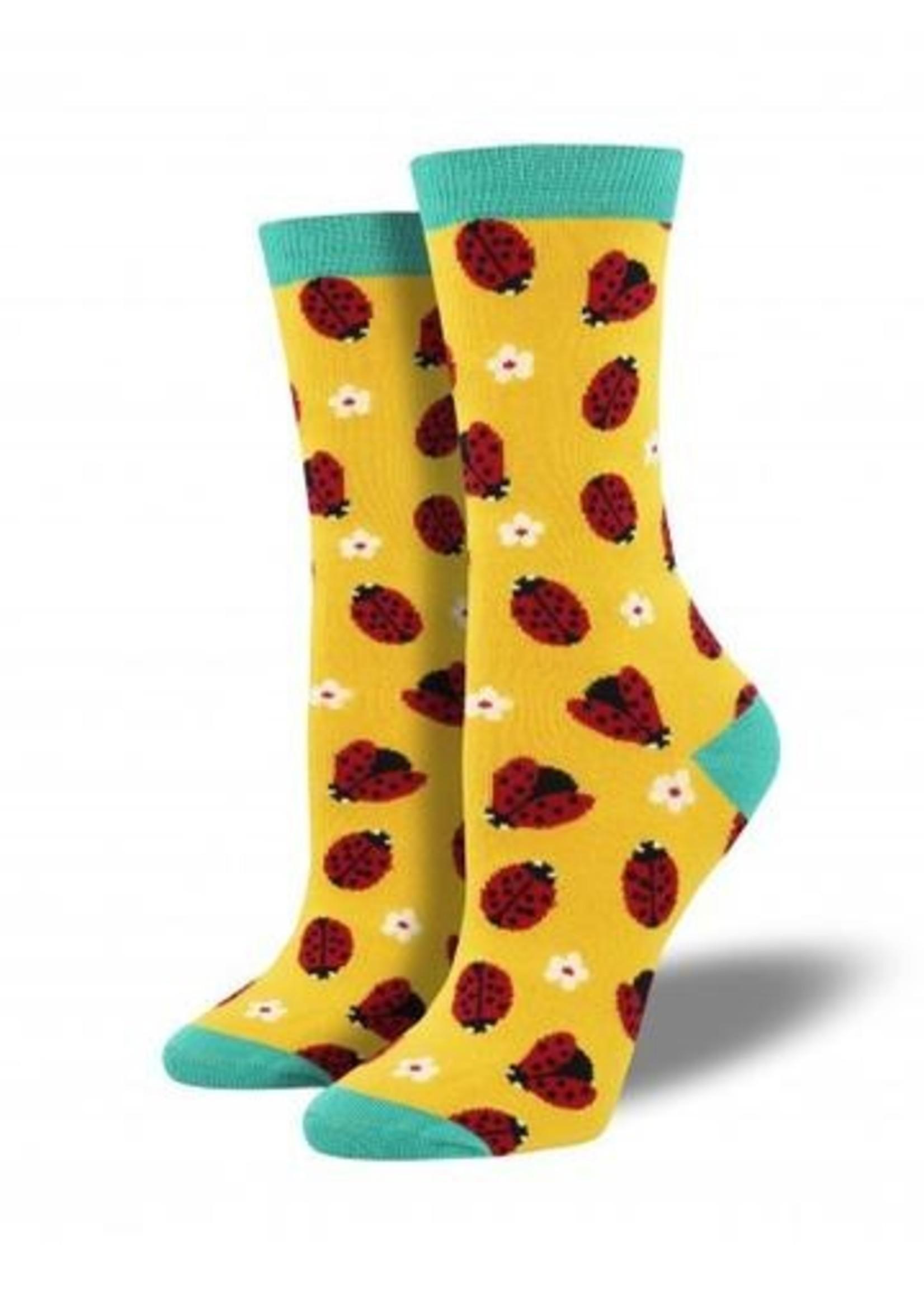Socksmith Canada Inc WOMEN'S LADYBUG SOCKS