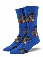 Socksmith Canada Inc MEN'S SMART ASS SOCKS MNC1629-BLU