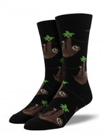 Socksmith Canada Inc MEN'S SLOTH SOCKS SSM1372-BLK