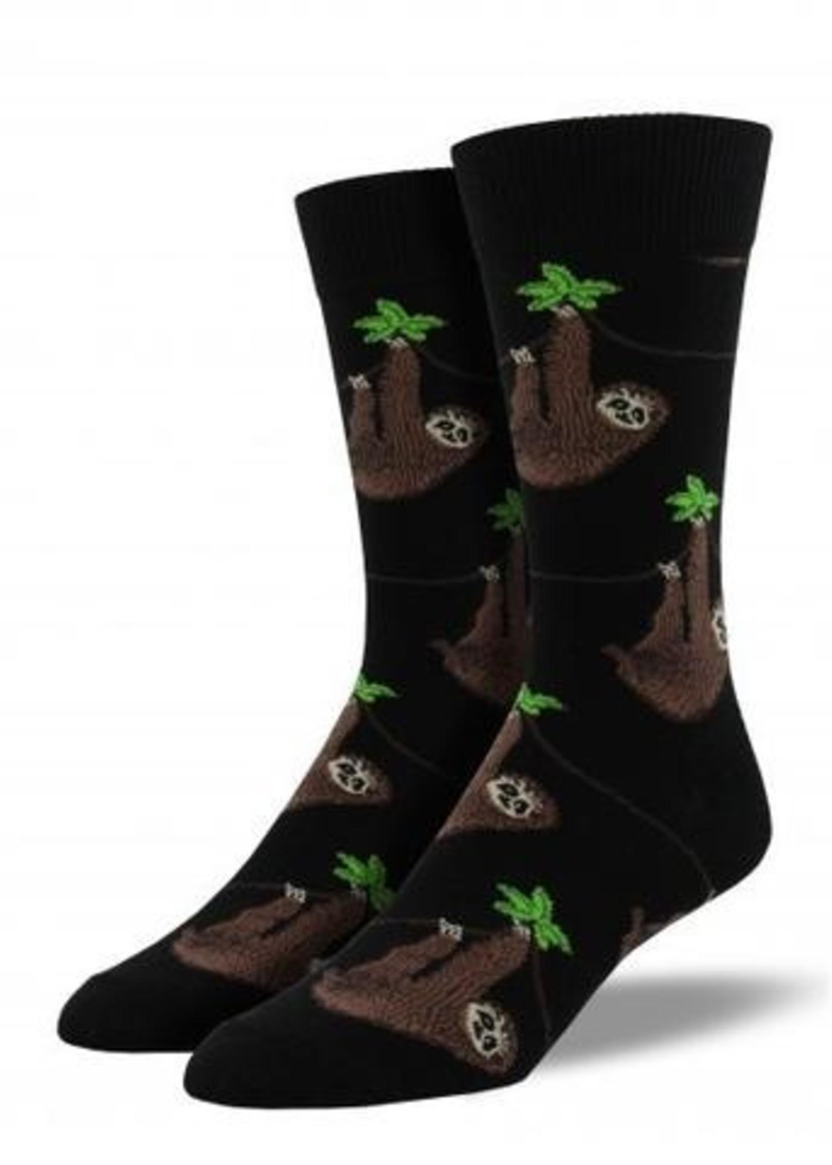 Socksmith Canada Inc MEN'S SLOTH SOCKS