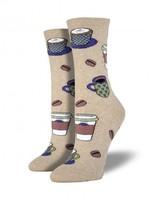 Socksmith Canada Inc WOMEN'S LOVE YOU A LATTE SOCKS SSW1380