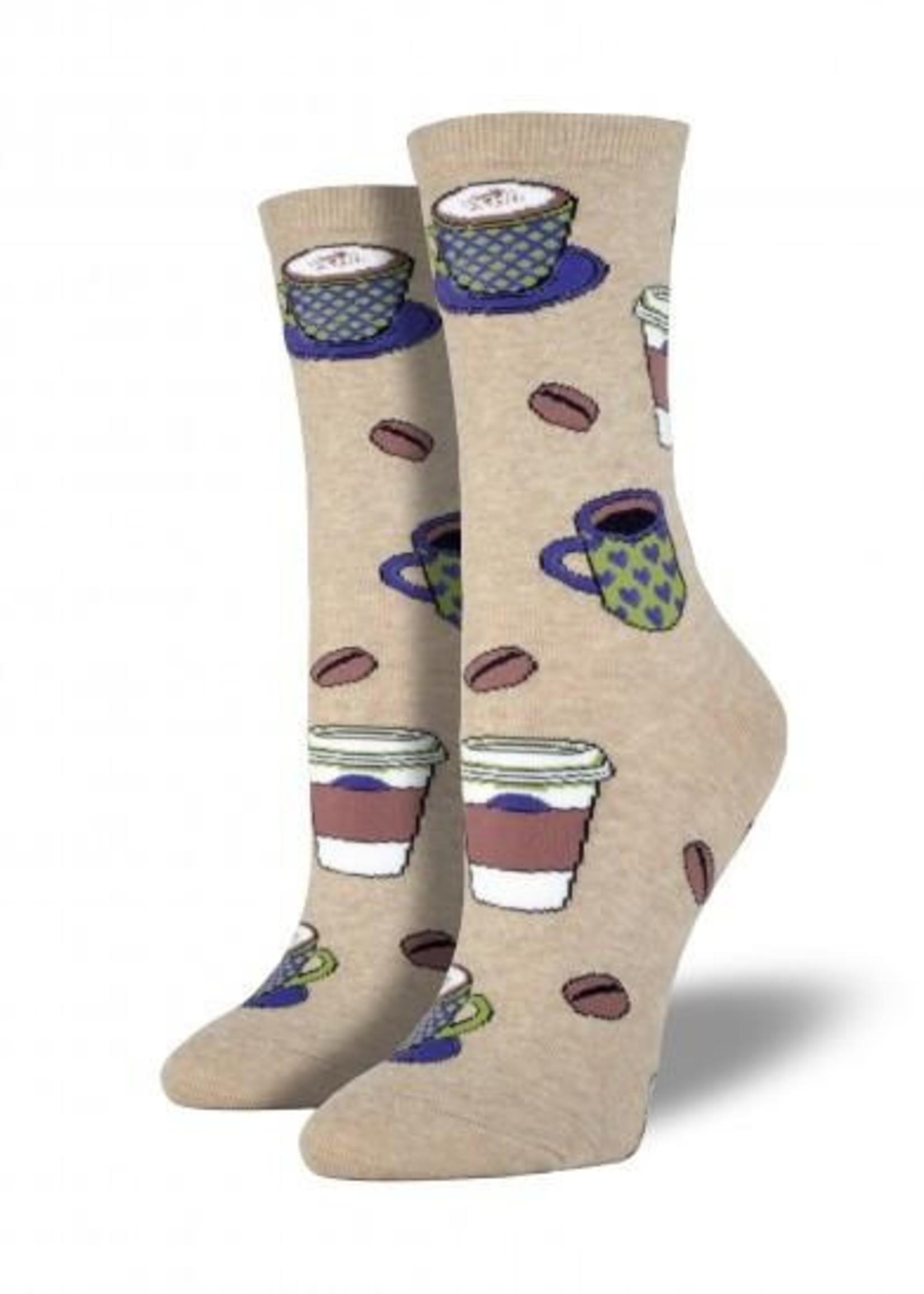 Socksmith Canada Inc WOMEN'S LOVE YOU A LATTE SOCKS