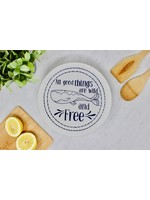 Your Green Kitchen MEDIUM WILD & FREE BOWL COVER-UNWAXED