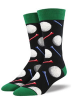 Socksmith Canada Inc MEN'S TEE IT UP SOCKS MNC1636-BLK