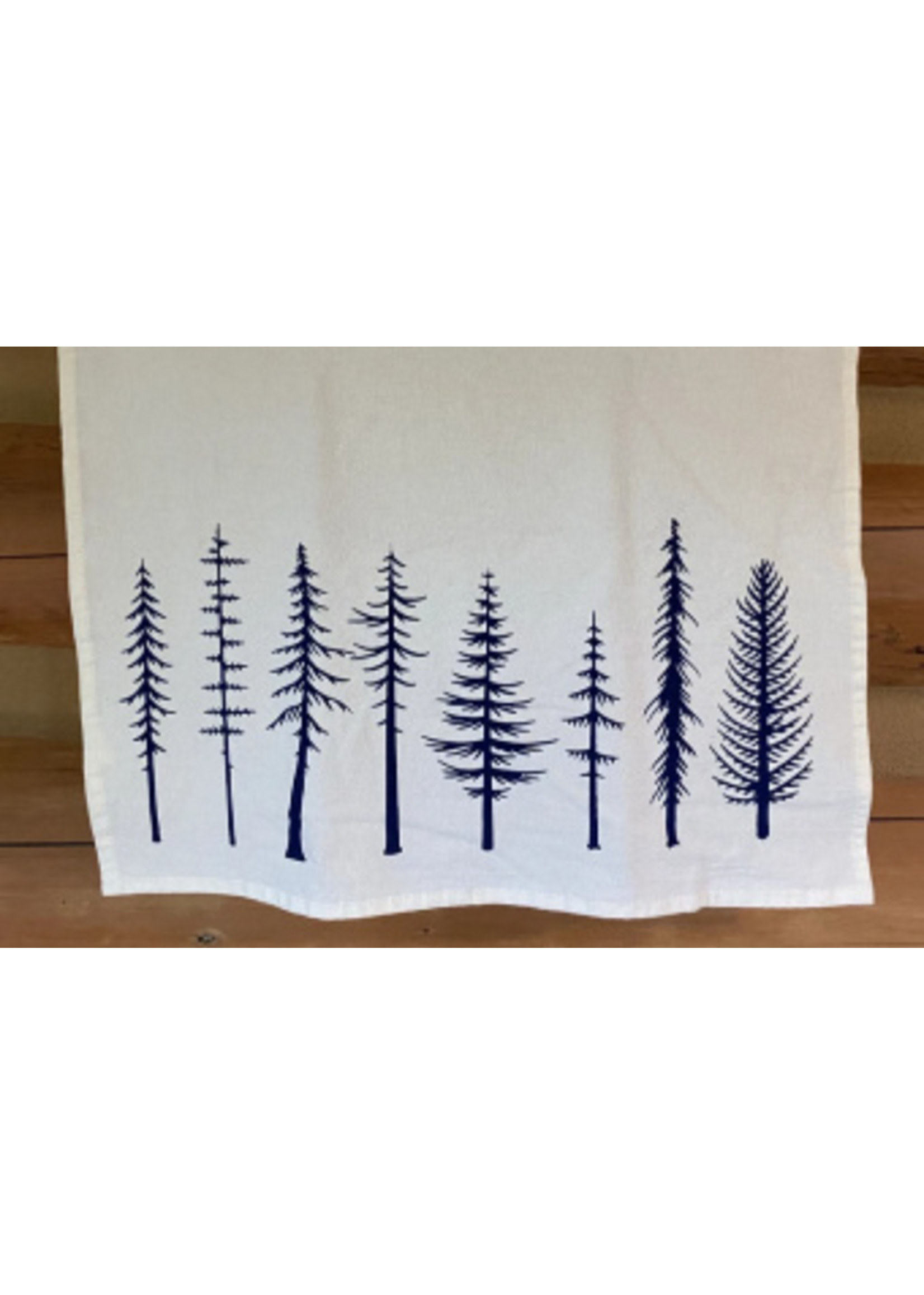 Your Green Kitchen TREES TEA TOWEL