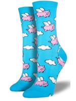 Socksmith Canada Inc WOMEN'S WHEN PIGS FLY SOCKS SSW1355