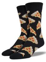 Socksmith Canada Inc MEN'S PIZZA SOCKS SSM1414-LG