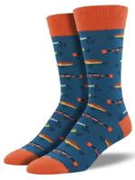 Socksmith Canada Inc MEN'S JUST FISHIN SOCKS MNC661