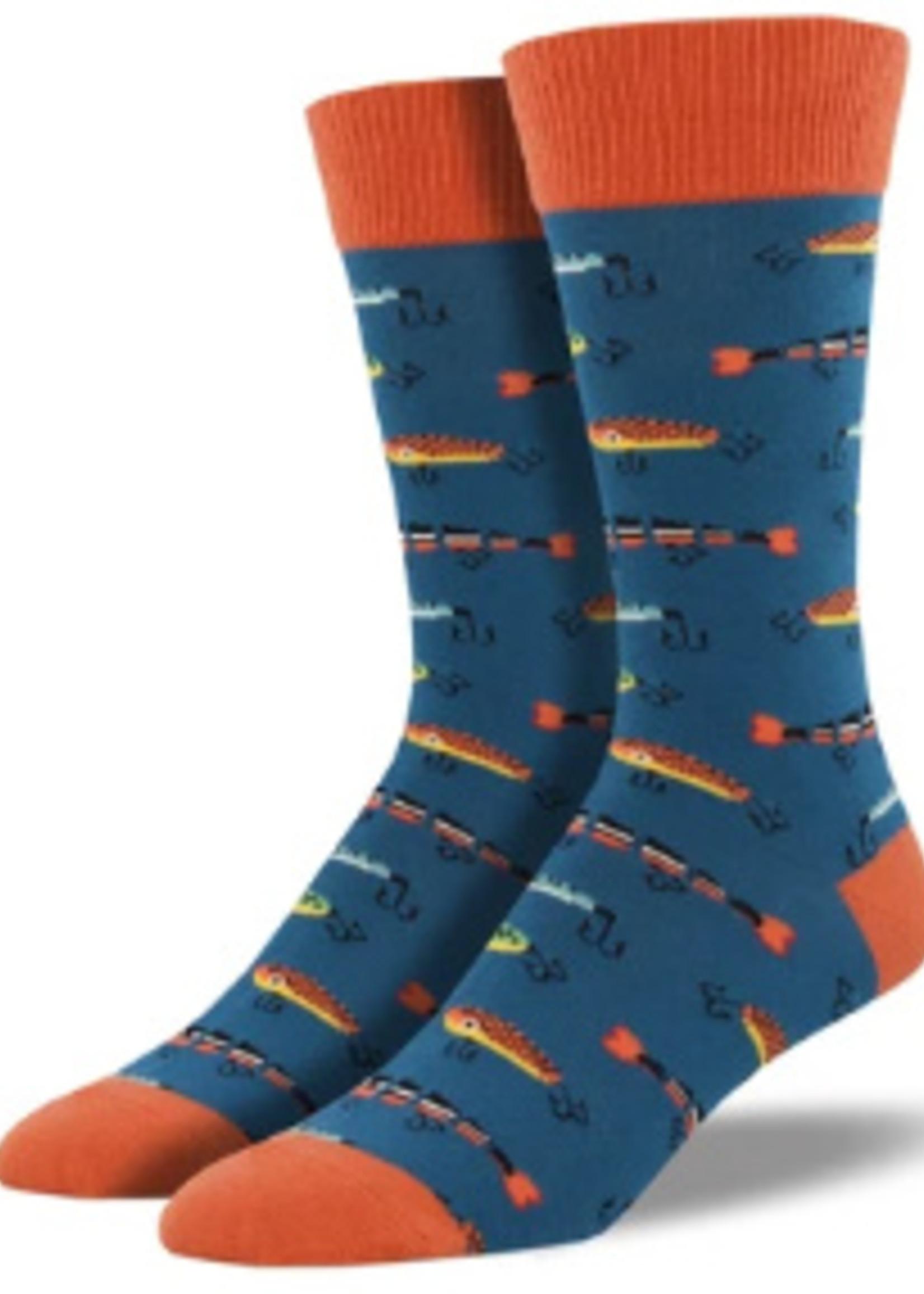 Socksmith Canada Inc MEN'S JUST FISHIN SOCKS