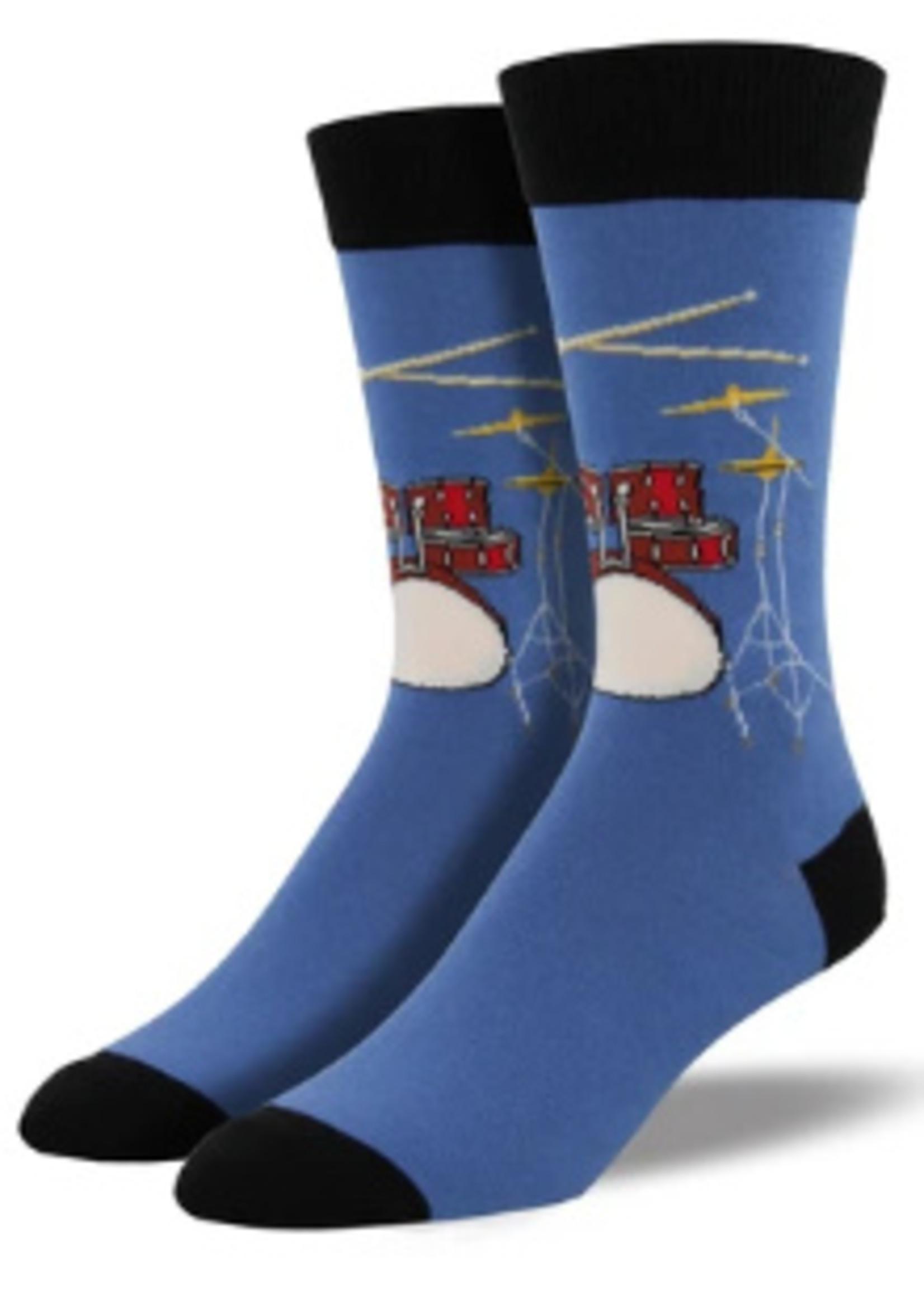 Socksmith Canada Inc MEN'S DRUM SOLO SOCKS