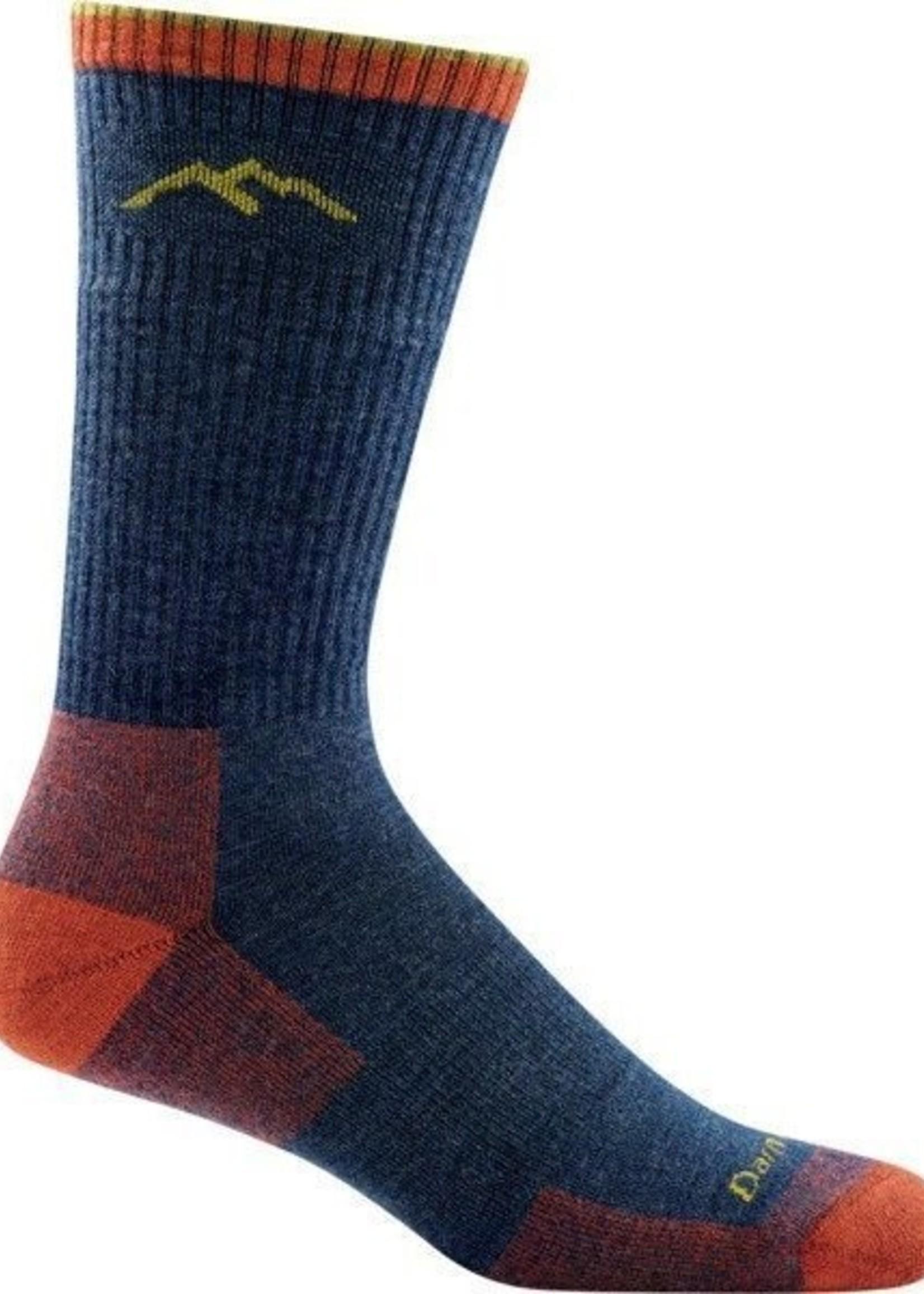 Darn Tough HIKER BOOT MID WEIGHT CUSHION SOCKS-DENIM