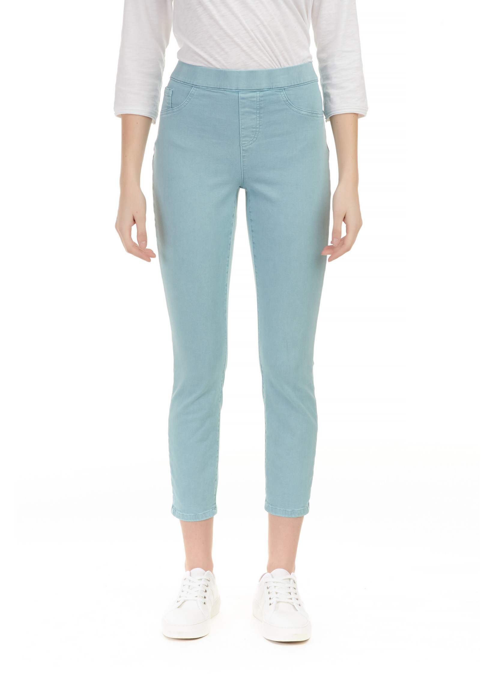 Charlie B BOW PANT IN COLOR TWILL
