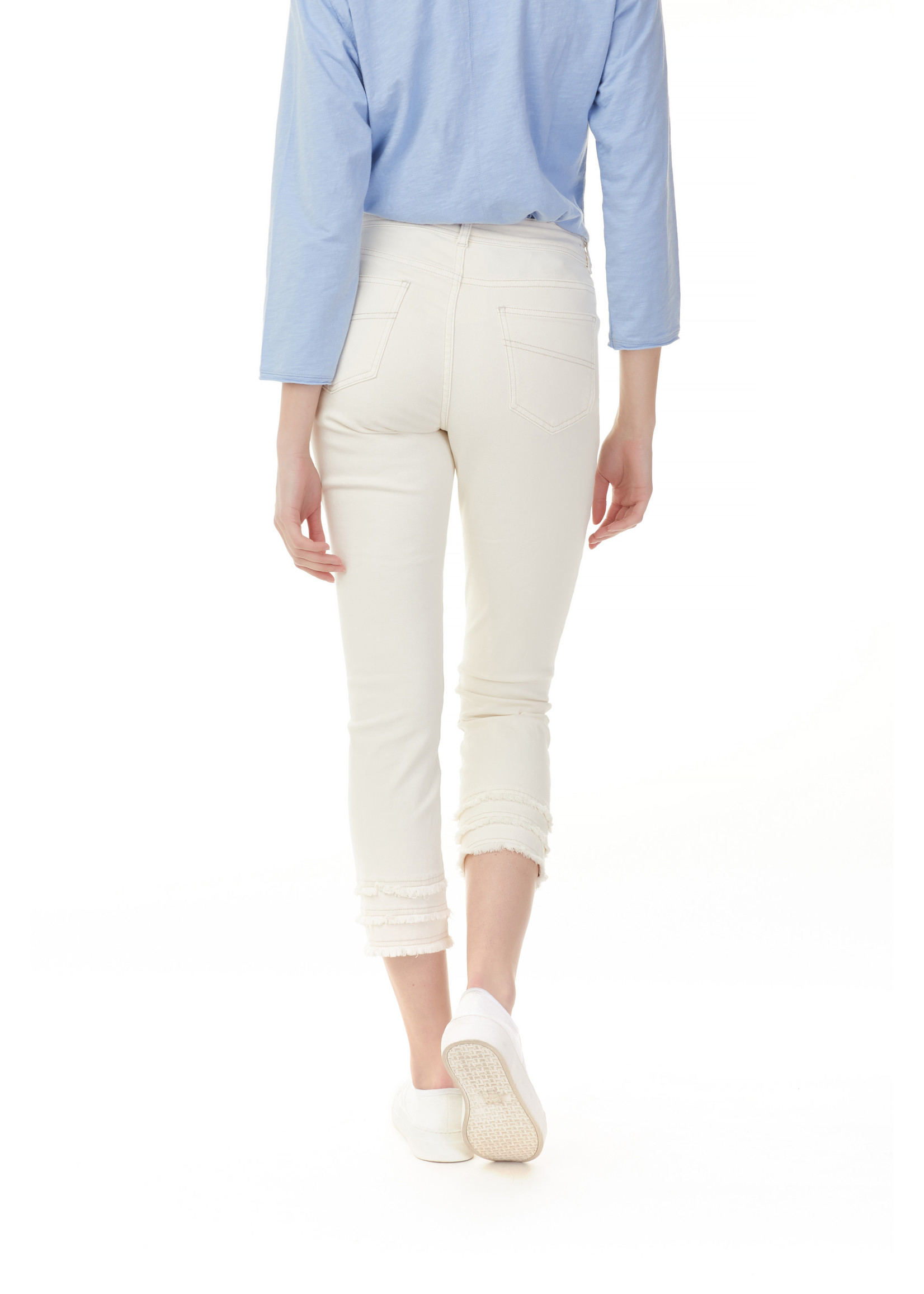 Charlie B COLORED TWILL JEANS