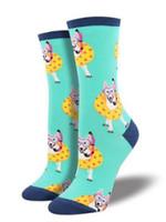 Socksmith Canada Inc WOMEN'S DOGGY PADDLE SOCKS WNC1520-MINT
