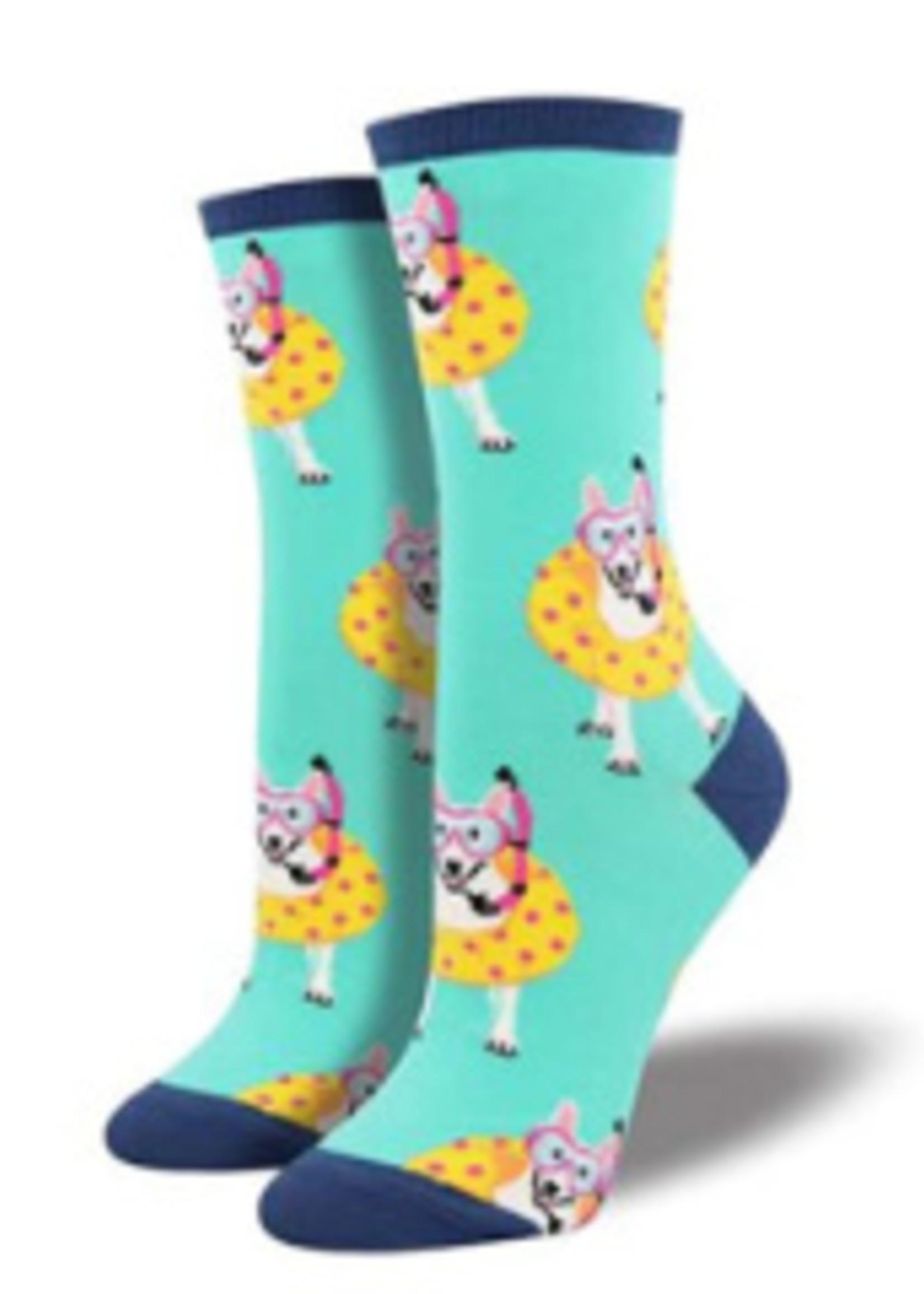 Socksmith Canada Inc WOMEN'S DOGGY PADDLE SOCKS
