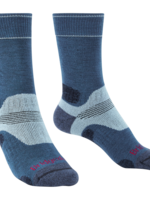 Bridgedale WOMEN'S HIKE MIDWEIGHT  MERINO PERF BOOT SOCK 710644 BLUE SKY