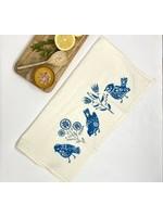 Your Green Kitchen FOLK BIRD TEA TOWEL