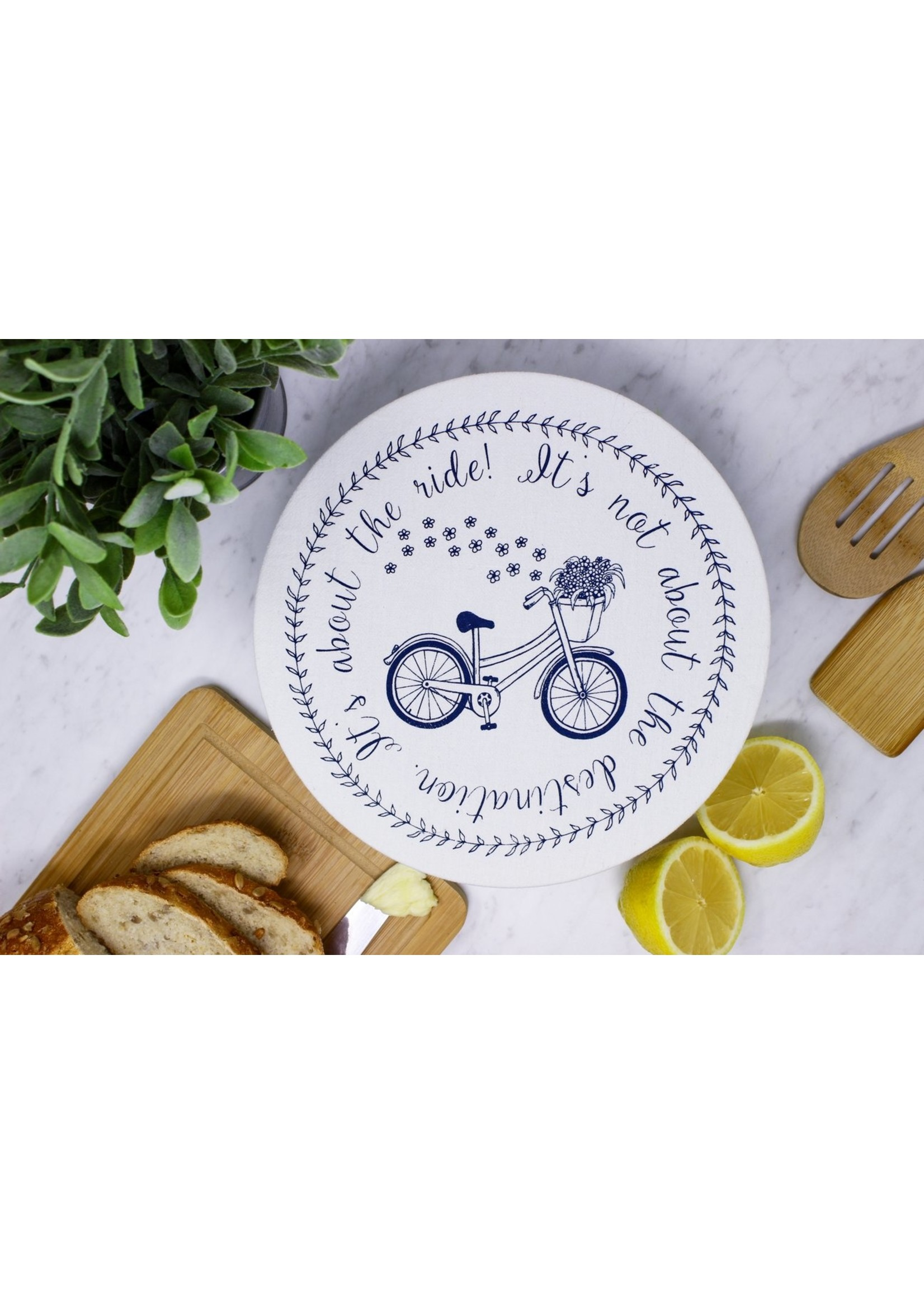 Your Green Kitchen MEDIUM BIKE BOWL COVER-WAXED