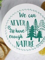 Your Green Kitchen LARGE NATURE BOWL COVER-UNWAXED