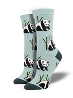 Socksmith Canada Inc WOMEN'S PANDA BEAR SOCKS WBN1914-BLU