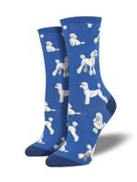 Socksmith Canada Inc WOMEN'S OODLES OF POODLES  SOCKS WNC1772-BLU