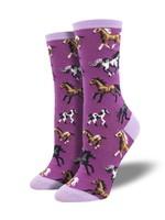Socksmith Canada Inc WOMEN'S JOY RIDE SOCKS WNC2129-PRP