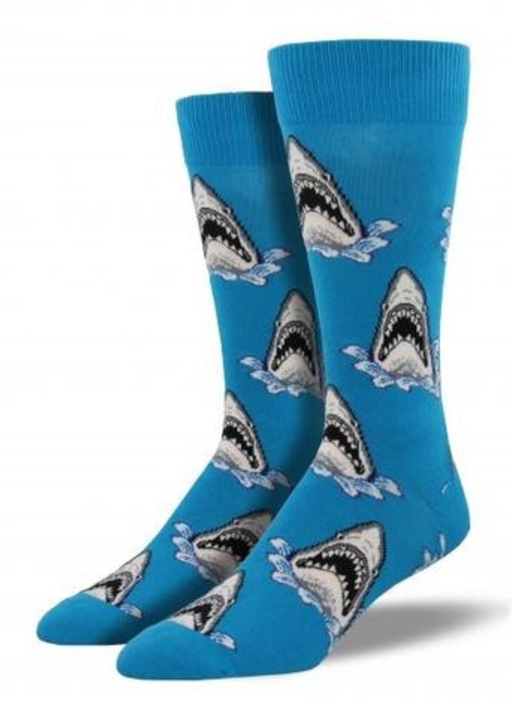 Socksmith Canada Inc MEN'S SHARK ATTACK SOCKS