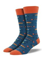 Socksmith Canada Inc MEN'S JUST FISHIN' SOCKS K-MNC2259-STB