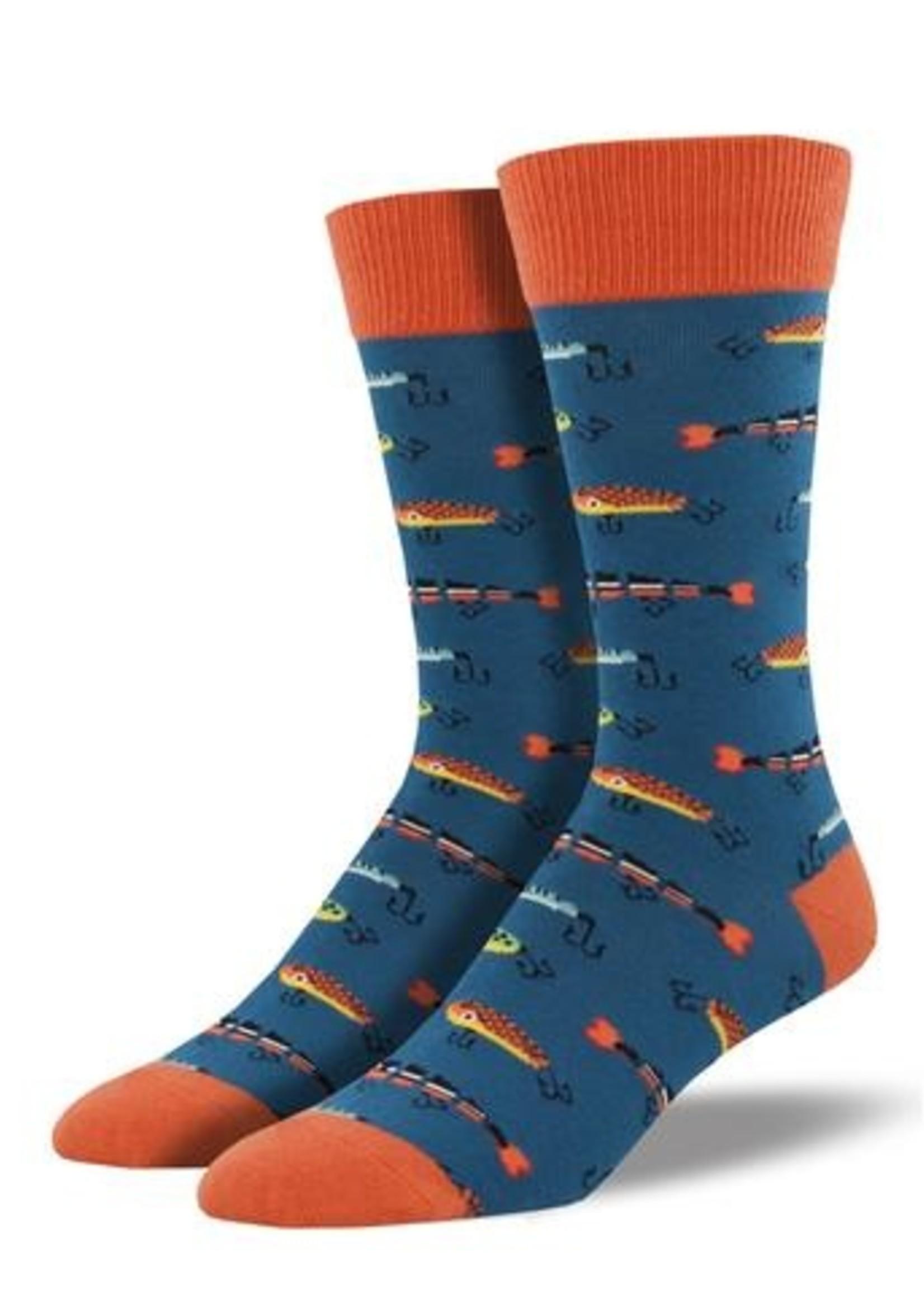 Socksmith Canada Inc MEN'S JUST FISHIN' SOCKS