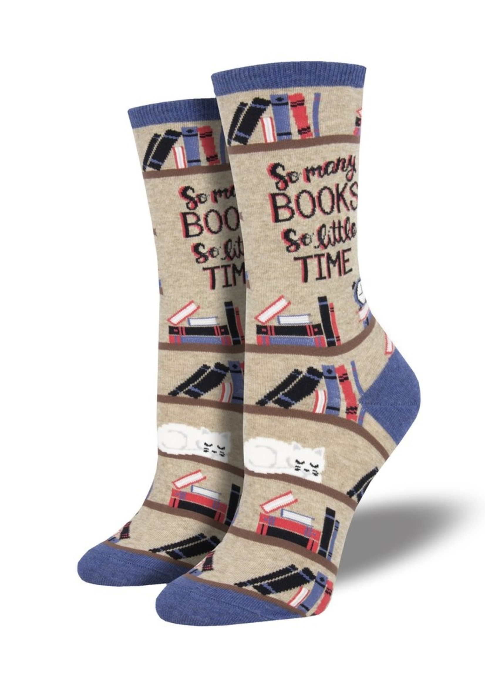 Socksmith Canada Inc WOMEN'S TIME FOR A GOOD BOOK SOCKS