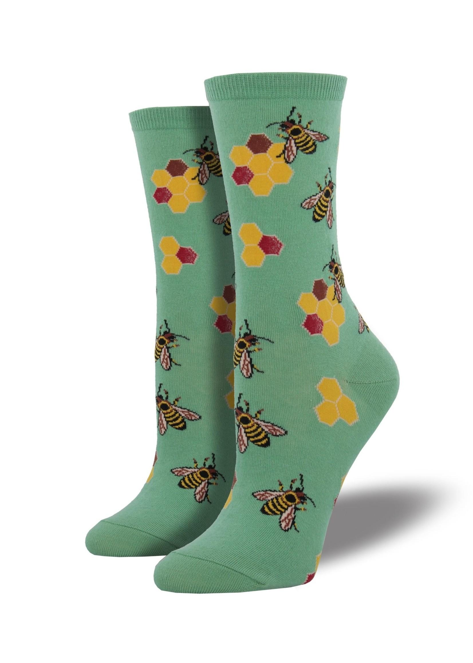 Socksmith Canada Inc WOMEN'S BUSY BEES SOCKS