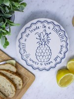 Your Green Kitchen PINEAPPLE SMALL BOWL COVER